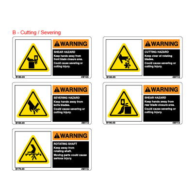 ANSI/ISO Format Labels